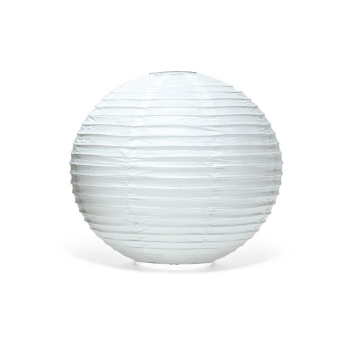 Lampion-wit-medium