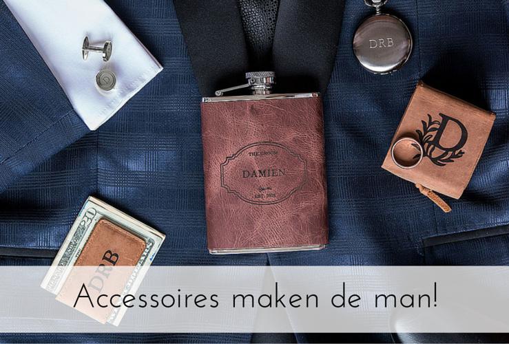 Accessoires maken de man!