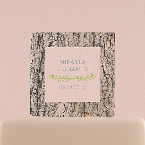 cake-topper-woodland-gepersonaliseerd