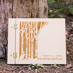 gastenboek-woodland-gepersonaliseerd