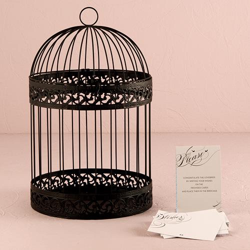 vogelkooi-zwart-gepersonaliseerd