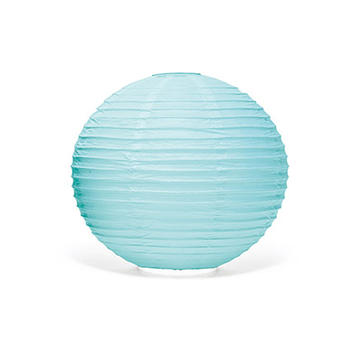 lampion-aqua-blauw-medium