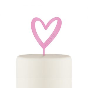 acryl-cake-topper-hart-roze