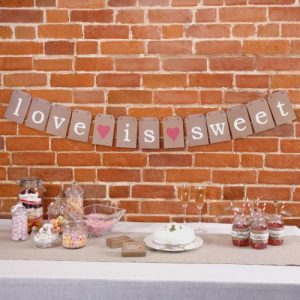 Candy table aankleding