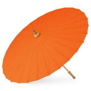 parasol-oranje