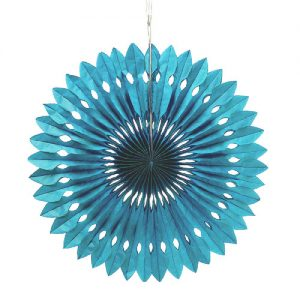 paper-fan-large-aqua-blauw