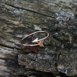 ring-arrow-rosegoud