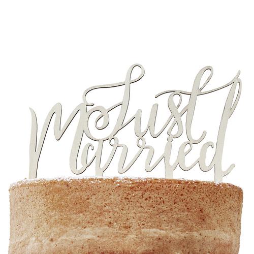 cake-topper-just-married-boho