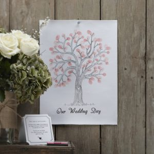 finger print tree vintage affair