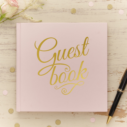 gastenboek pastel perfection