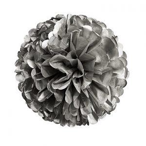 pompom-medium-zilver