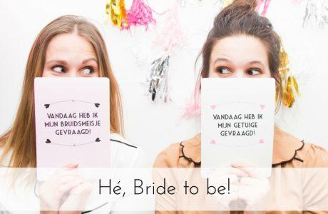 Hé, Bride to be!