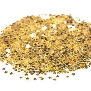 bruiloft-decoratie-mini-sterretjes-confetti-goud