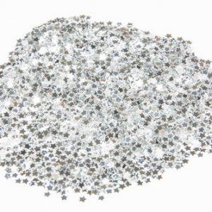 confetti-mini-sterretjes-zilver