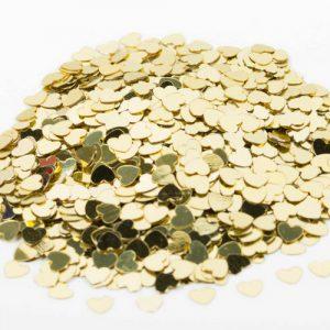 bruiloft-decoratie-hartjes-confetti-goud