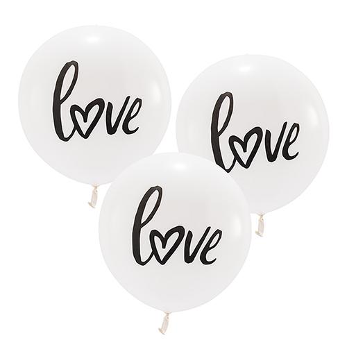 Ballon 'Love' wit large