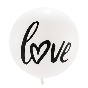 Mega ballon 'Love' wit