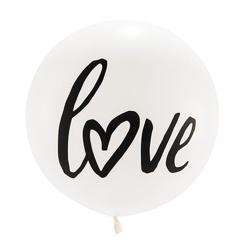 Mega ballon 'Love' wit