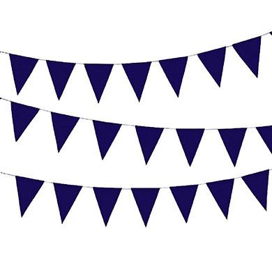Vlaggetjes slinger 'Violet'