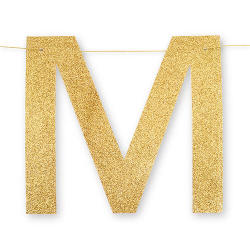 Mr & Mrs slinger Gold & Glitter