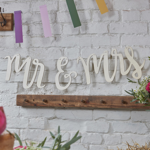 Mr & Mrs houten slinger boho