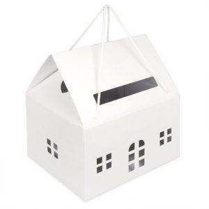 Enveloppendoos huis wit