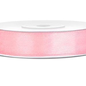 Satijnlint 12mm licht roze
