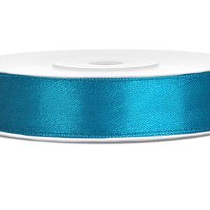 Satijnlint 12mm turquoise