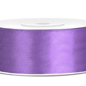 Satijnlint 25mm paars