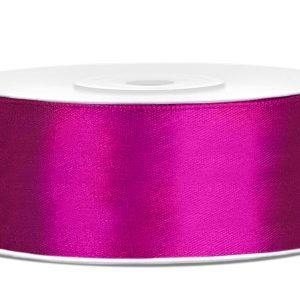 Satijnlint 25mm fuchsia