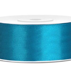 Satijnlint 25mm turquoise