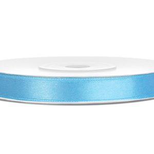 Satijnlint 6mm licht blauw