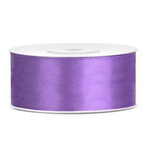 bruiloft-decoratie-satijnlint-25mm-paars