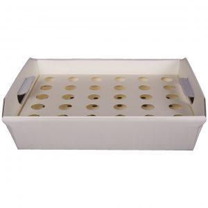 Confetti cones tray