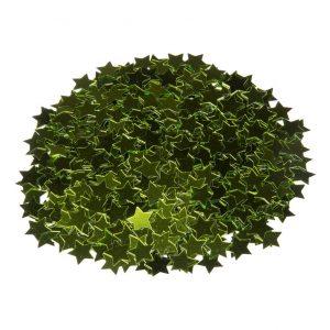 Sterretjes confetti groen