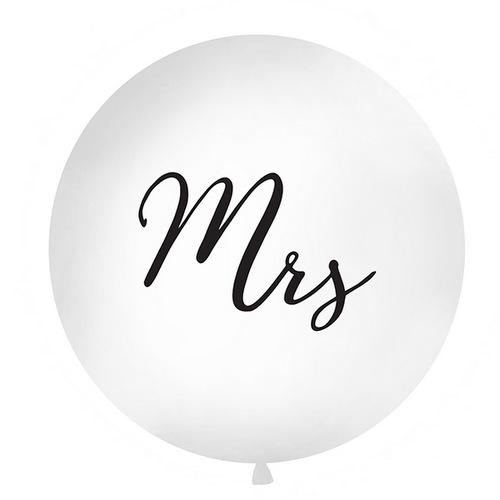 Mega ballon 'Mrs' boho