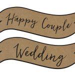 Borden 'Happy Couple' rustic