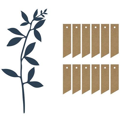 bruiloft-decoratie-decoratiepakket-leaves-labels-navy-blue