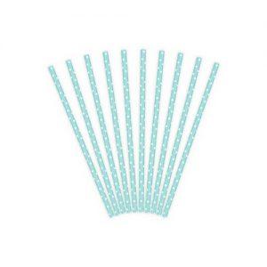 bruiloft-decoratie-papieren-rietjes-baby-blue