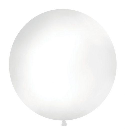 Mega ballon wit