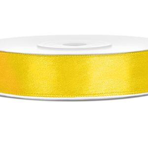 satijnlint 12mm geel