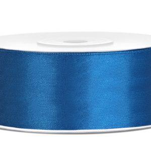 Satijnlint 25mm blauw