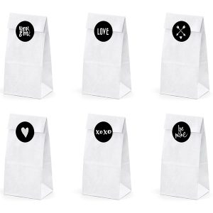 White bags 'Be Mine'1