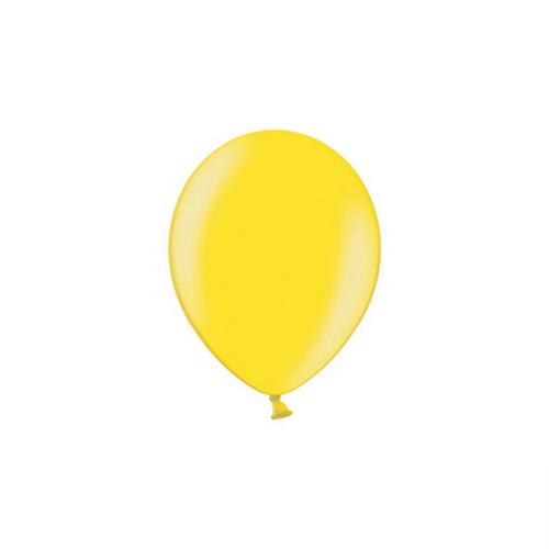 bruiloft-decoratie-metallic-ballonnen-geel