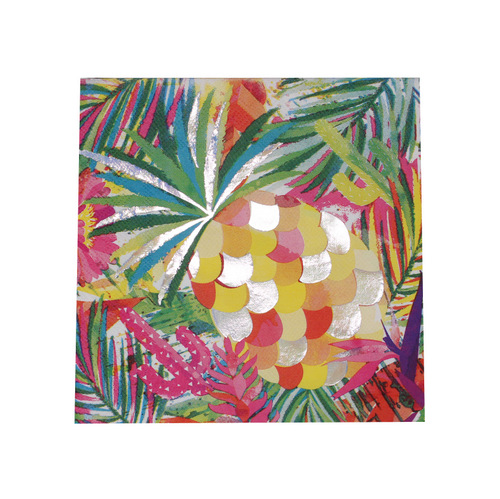 Servetten 'Iridescent Pineapple'