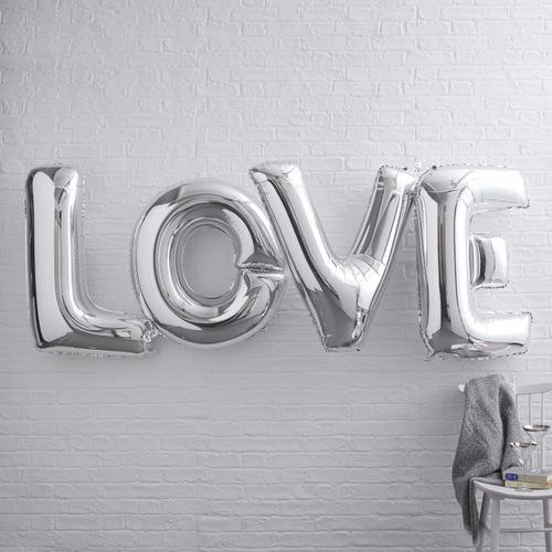 mega-folieballonnen-love-zilver