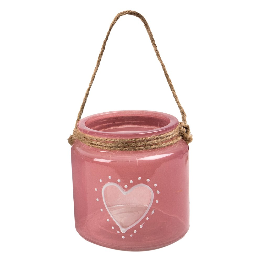 Glazen-waxinelichthouder-'heart-pink'