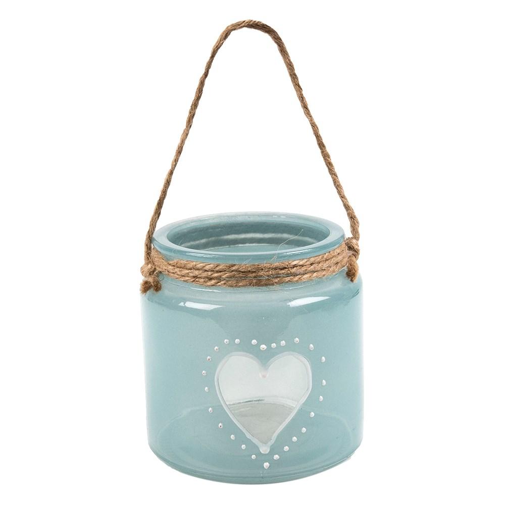Glazen-waxinelichthouder-'heart-tiffan-blue'