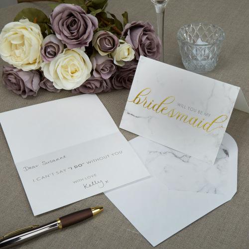 bridesmaids-kaarten-scripted-marble