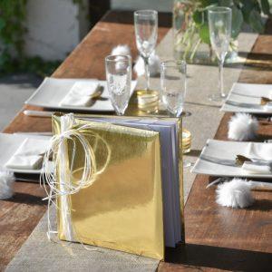 gastenboek-metallic-gold